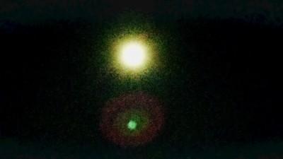 浅草からの満月です!