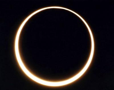 4月29日新月・金環日食