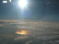 雲の上の光輪